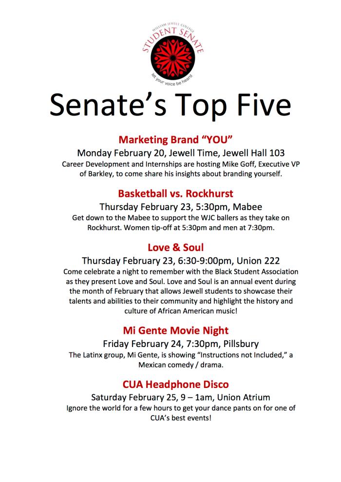 senates-top-five-february-20